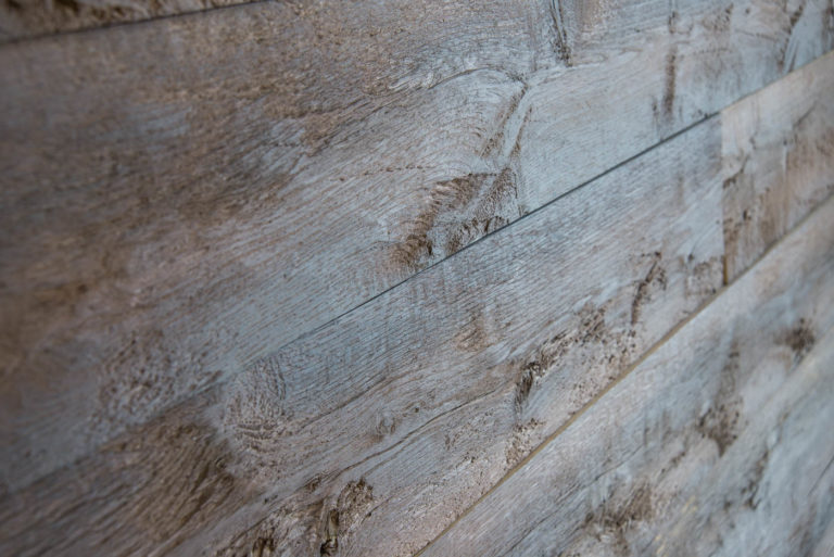 Wandverkleidung Holz Eiche Verkohlt